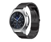 Killerdeals Stainless Steel Replacement Strap for Samsung Gear S2 - Black