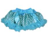 Long Fluffy Tulle Tutu Skirt in Color Light Pink