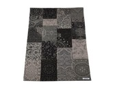 Apadana M-Chenelle Grey with Black Patchwork Design (280x200)