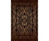 Lush Living Rug Bailey Plush Shaggy - Chocolate - 50 x 80cm - Pack of 4