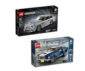 LEGO CREATOR EXPERT Ford Mustang & 007 Aston Martin Bundle - 10262 / 10265