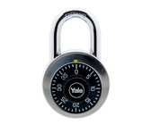 Yale Dial Combination Padlock