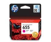 HP 655 Magenta Original Ink Advantage Cartridge - Blister