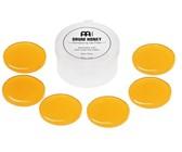 Meinl MDH Drum Honey 6-Piece Drum Damper Gel Pads with Case (Yellow)