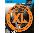 D'Addario EXL160BT 50-120 XL Nickle Round Wound Balanced Tension Medium Long Scale Bass Guitar Strings