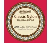 D'Addario J2705 Student Nylon Normal Tension Nylon Silver 5th String