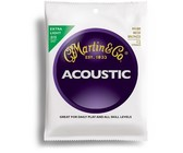 Martin M180 Traditional 10-47 80/20 Bronze Extra Light 12-String Acoustic Guitar Strings